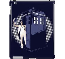 Fifth Doctor Who and Tardis iPad Case/Skin