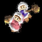 Abstract Ice Climber Epic Duo by scribbleworx
