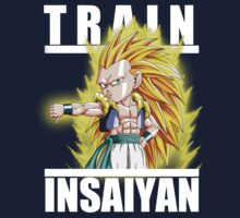Train insaiyan - Gotenks by Ali Gokalp