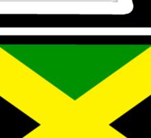 Jamaican Curling  Sticker