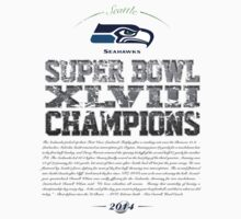 SEAHAWKS CHAMPIONS by Jimmy Rivera