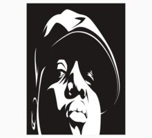 Biggie Smalls Black and White by slothseller