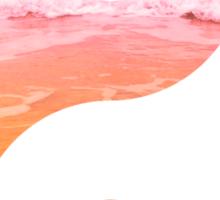 Yin & Yang (pink sky) Sticker