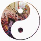 Melbourne Street Art Yin & Yang by dare-ingdesign