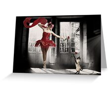 Just Dance... Greeting Card