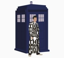 Doctor Who with TARDIS by GrantP93