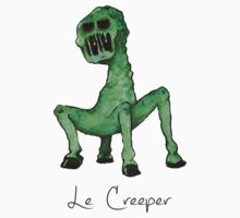 Le Creeper Watercolor by Kochopia