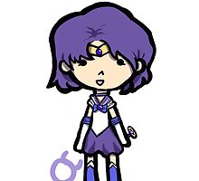 Sailor Mercury Chibi by Nothisispatrick