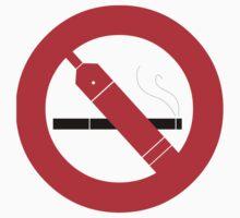 NO SMOKING (just vape it) LIGHT SHIRT VERSION by Gauze LazerFist