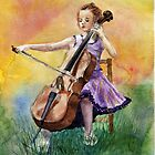Little Cellist by AnnaShell