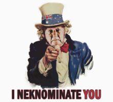 I Neknominate You - Bob Hawke Edition T-Shirt