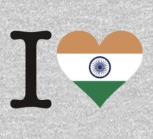 I Love India by artpolitic