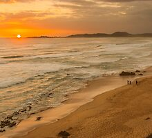 Sunset at Brenton on Sea by Henry Deacon