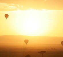 Sunrise over the Masai Plains, Kenya by Manon Mispiratceguy