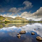 Scotland - Summer reflections, Kilchurn Castle by Angie Latham