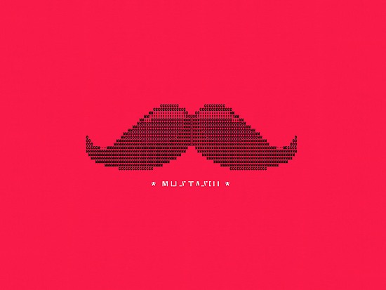 Mustascii by BootsBoots