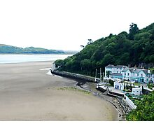 On the beach of Portmeirion (Wales) Photographic Print