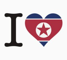 I Love North Korea by artpolitic