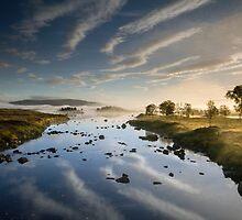 Scotland- Loch Ba Reflections by Angie Latham