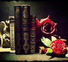 Demon & Roses by LeDormeurDuVol