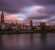 Ulm Skyline by Constantin Fellermann