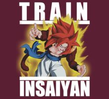Train insaiyan - Gogeta super saiyan 4 by Ali Gokalp
