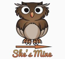 Couple T-shirt: She's Mine by smute20