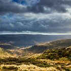A View to Crowden & Bleaklow by Angie Morton