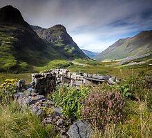 Scotland- Glencoe Valley by Angie Latham