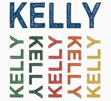 Kelly Cute Colorful by Wordy Type