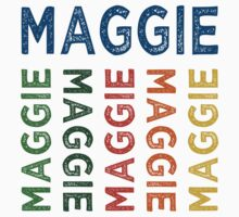 Maggie Cute Colorful by Wordy Type