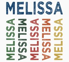 Melissa Cute Colorful by Wordy Type