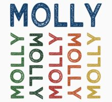 Molly Cute Colorful by Wordy Type