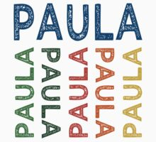 Paula Cute Colorful by Wordy Type