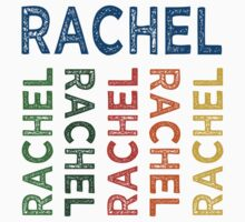 Rachel Cute Colorful by Wordy Type
