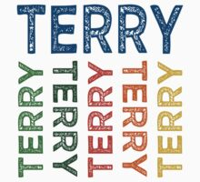 Terry Cute Colorful by Wordy Type