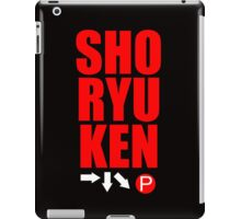 SHORYUKEN iPad Case/Skin