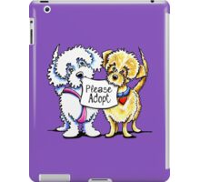 Might Mutts Please Adopt iPad Case/Skin