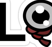 Plop  Sticker