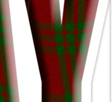 Tartan Aye - Scottish independence referendum Sticker