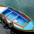 Boat in the harbour of Siracusa - Sicily - Italy by Arie Koene