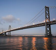 Bay Bridge, San Francisco by worldandwind
