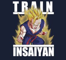 Train insaiyan - Adult Gohan by Ali Gokalp
