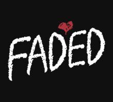 Faded <3 - White by tumblingtshirts
