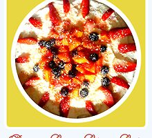 Papaya Cream Cheese Cake by ©The Creative  Minds