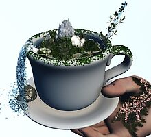 Piece of Nature Cup by Eric Nagel