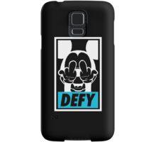 Mickey Says DEFY - Inverted Samsung Galaxy Case/Skin