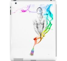 Genie Day - gay art male art iPad Case/Skin