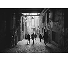 Pilgrimage toward the gum wall Photographic Print