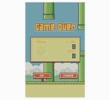 MBA - Game Over - Flappy Bird by MDRN